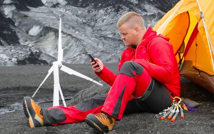 Калейдоскоп, Исландцы изобрели мобильную ветряную энергоустановку   Исландцы изобрели мобильную ветряную энергоустановку