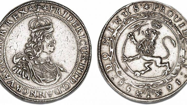 Бизнес, Два норвежских таллера XVII века обменяли в Дании по очень выгодному курсу | Два норвежских таллера XVII века обменяли в Дании по очень выгодному курсу