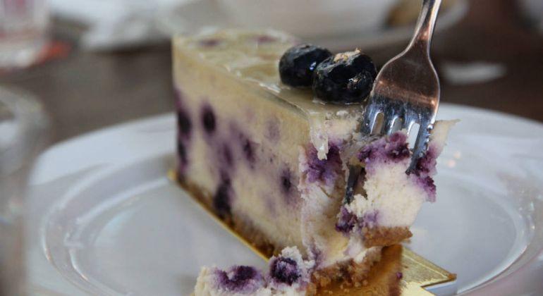 Рецепты, Черничный чизкейк | Черничный чизкейк