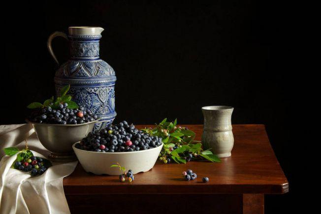 Рецепты, Чернично-йогуртовый щербет | Чернично-йогуртовый щербет