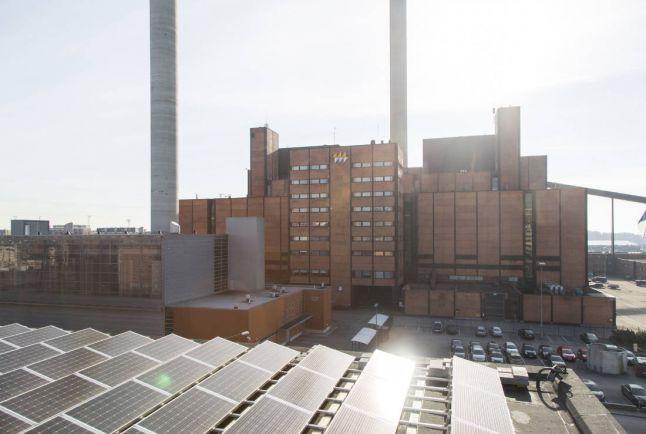 Общество, В Хельсинки заработала крупнейшая в Финляндии солнечная электростанция | В Хельсинки заработала крупнейшая в Финляндии солнечная электростанция