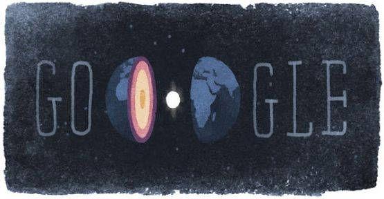 Общество, Google изменил логотип в честь датского сейсмолога | Google изменил логотип в честь датского сейсмолога