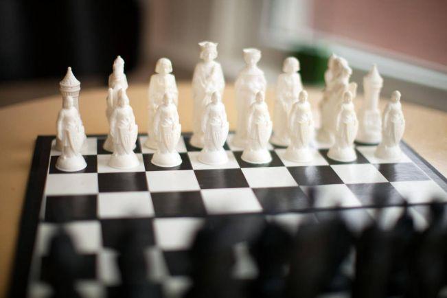 Калейдоскоп, Норвежский гроссмейстер побеждает вслепую | Норвежский гроссмейстер побеждает вслепую