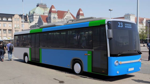 Калейдоскоп, Финны пересаживаются на электрические автобусы | Финны пересаживаются на электрические автобусы