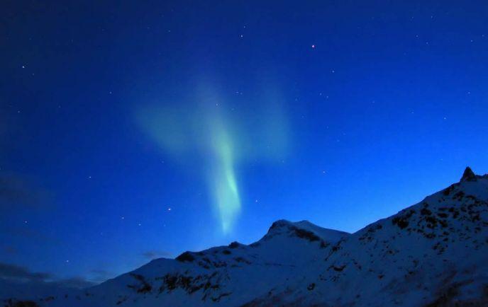 Калейдоскоп, В Норвегии появится специальный отель для просмотра северного сияния |