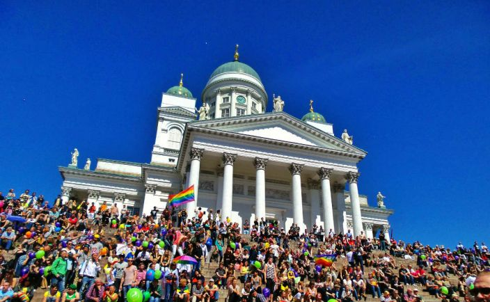 Калейдоскоп, В Хельсинки проходит ЛГБТ-неделя |