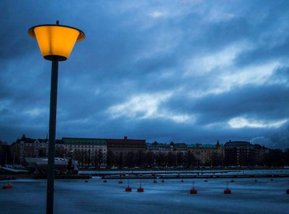 Калейдоскоп, В Финляндии придумали умные уличные фонари | В Финляндии придумали умные уличные фонари