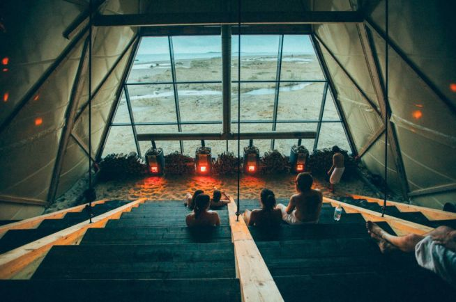 Калейдоскоп, В Норвегии открылась крупнейшая в мире баня за Полярным кругом | В Норвегии открылась крупнейшая в мире баня за Полярным кругом