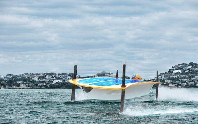 Бизнес, Финский дизайнер участвовал в разработке беспилотного судна на солнечных батареях | Финский дизайнер участвовал в разработке беспилотного судна на солнечных батареях