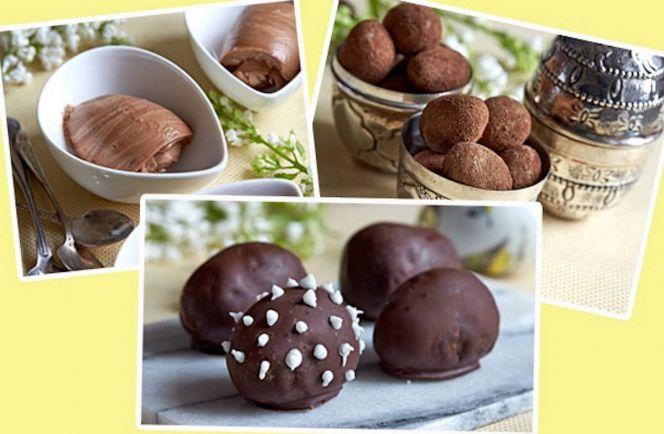 Рецепты, Датские пасхальные яйца с шоколадом, нугой, марципаном | Датские пасхальные яйца с шоколадом, нугой, марципаном