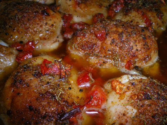 Рецепты, Куриные ножки с грибами, эстрагоном в винно-сливочном соусе   Куриные ножки с грибами, эстрагоном в винно-сливочном соусе