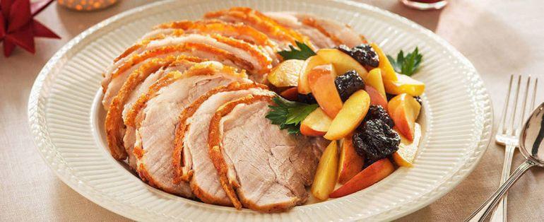 Рецепты, Жаркое по-норвежски | жаркого из мяса с квашеной капустой, яблоками и черносливом по-норвежски