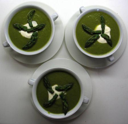 Рецепты, Суп из спаржи по-шведски - два рецепта | Суп из спаржи по-шведски - два рецепта