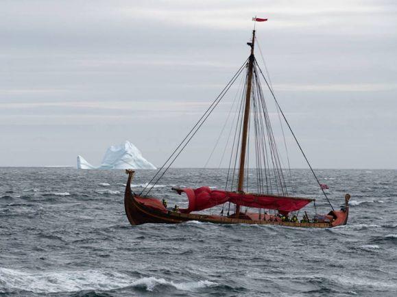 Общество, Корабль викингов пересёк Атлантический океан за пять недель | Корабль викингов пересёк Атлантический океан за пять недель