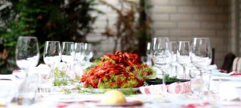 Статьи Кухня, Kräftskivor - Праздник речного рака в Швеции | Kräftskivor - Праздник речного рака в Швеции