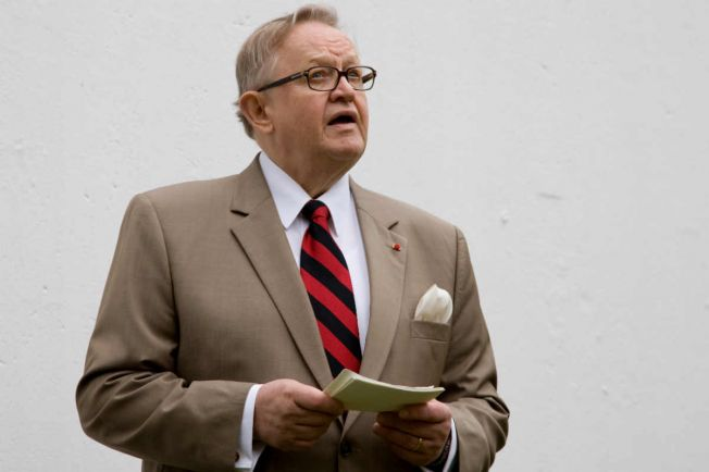 Общество, Бывший президент Финляндии Мартти Ахтисаари поддерживает вступление своей страны в НАТО | Бывший президент Финляндии Мартти Ахтисаари поддерживает вступление своей страны в НАТО