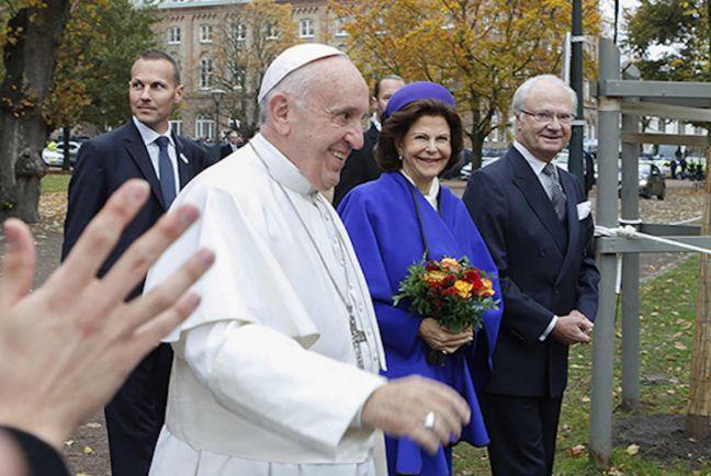 Общество, Папа Франциск и руководители Лютеранской церкви отметили в Швеции начало Реформации | Папа Франциск и руководители Лютеранской церкви отметили в Швеции начало Реформации