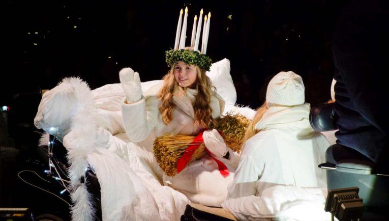 Статьи Калейдоскоп, День Святой Люсии  - праздник света в Швеции и Финляндии | День Святой Люсии в Швеции и Финляндии