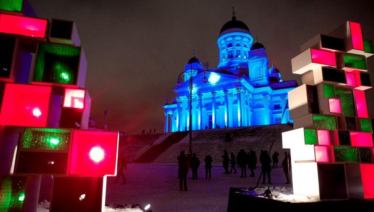 Культура, В столице Финляндии завершился фестиваль света Lux Helsinki | В столице Финляндии завершился фестиваль света Lux Helsinki