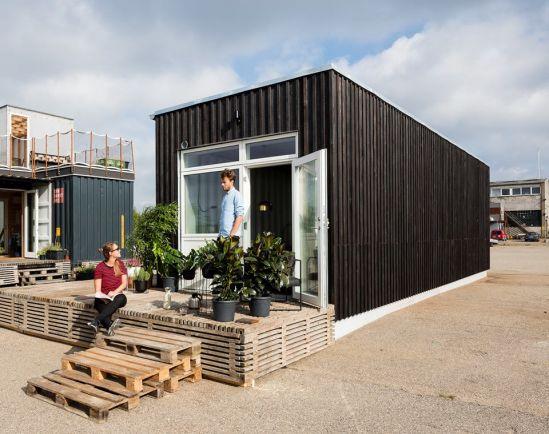Бизнес, Датских студентов поселят в грузовых контейнерах | Датских студентов поселят в грузовых контейнерах