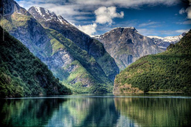 Полезная информация, По норвежским фьордам туристов повезёт электрический паром   По норвежским фьордам туристов повезёт электрический паром